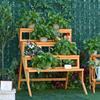 Εικόνα της Outsunny Ξύλινη Ραφιέρα Φυτών 4 Θέσεων 845-441