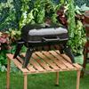 Εικόνα της Φορητή Ψησταριά - Γκριλιέρα Μπάρμπεκιου με Κάρβουνο 59 x 43 x 39cm Outsunny 846-023