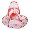 Εικόνα της HomCom - Σετ Παιδική Σκηνή με Παιδότοπο και Τούνελ 345-013