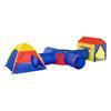 Εικόνα της HomCom - Παιδική σκηνή 6 σε 1, για 2-4 παιδιά με πτυσσόμενο τούνελ 345-018