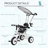 Εικόνα της HomCom - Τρίκυκλο Παιδικό Ποδήλατο-Καρότσι 370-025