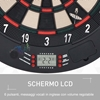 Εικόνα της HomCom - Ηλεκτρονικός Στόχος με 6 Βελάκια A70-045