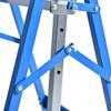 Εικόνα της HomCom - Σετ Τηλεσκοπικά Καβαλέτα Εργασίας 2 τμχ Χρώματος Μπλέ B40-015BU