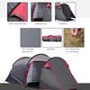 Εικόνα της Outsunny Σκηνή Camping 4 Ατόμων με Προθάλαμο 1000 mm 426 x 206 x 154 cm. A20-173