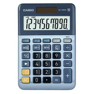 Εικόνα της Αριθμομηχανή 10 Ψηφίων Casio MS-100EM