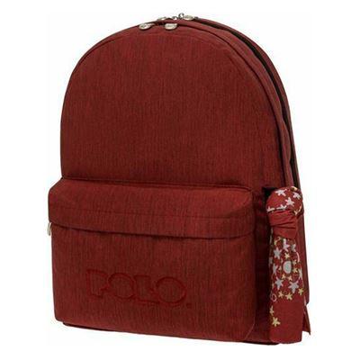Εικόνα της Polo - Τσάντα Πλάτης Original Double Σκούρο Kόκκινο 2021 901235-3100