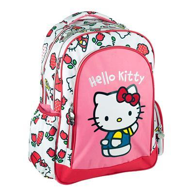 Εικόνα της Gim - Τσάντα Δημοτικού Οβάλ Hello Kitty Tulip 335-68031