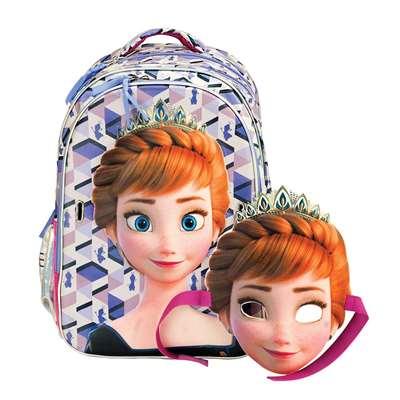 Εικόνα της Gim - Τσάντα Δημοτικού Οβάλ Frozen Anna 341-67031
