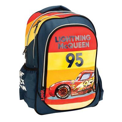 Εικόνα της Gim - Τσάντα Δημοτικού Οβάλ Cars Race 341-49031
