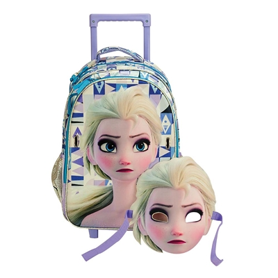 Εικόνα της Gim - Τσάντα Δημοτικού Trolley Frozen Elsa 341-66074