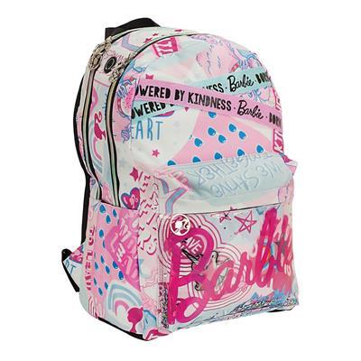 Εικόνα της Gim - Τσάντα Δημοτικού Barbie Girl Power 2 Θέσεων 349-69034