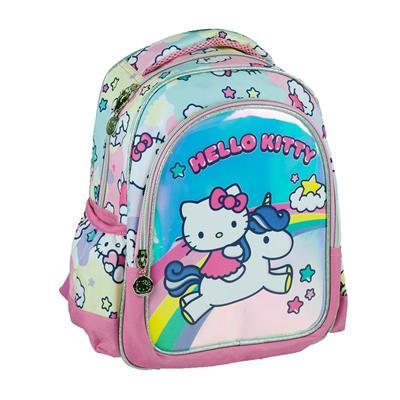 Εικόνα της Gim - Τσάντα Πλάτης Nηπιαγωγείου Hello Kitty Unicorn 335-69054