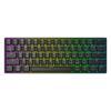 Εικόνα της Πληκτρολόγιο HK Gaming GK61 RGB Gateron Brown Switch (US) Black