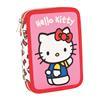 Εικόνα της Gim - Κασετίνα Διπλή Hello Kitty Tulip 335-68100