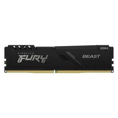 Εικόνα της Ram Kingston Fury Beast 4GB DDR4-2666MHz CL16 KF426C16BB/4 Black
