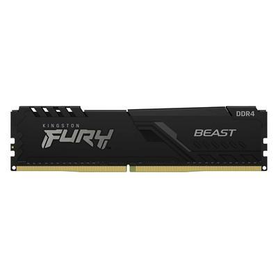 Εικόνα της Ram Kingston Fury Beast 8GB DDR4-3200MHz CL16 KF432C16BB/8 Black