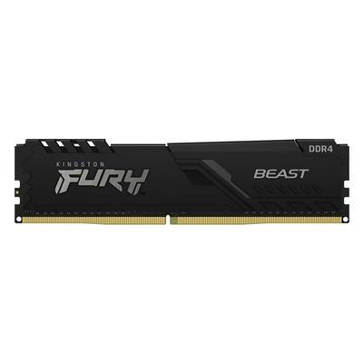 Εικόνα της Ram Kingston Fury Beast 16GB DDR4-3200MHz CL16 KF432C16BB1/16 Black