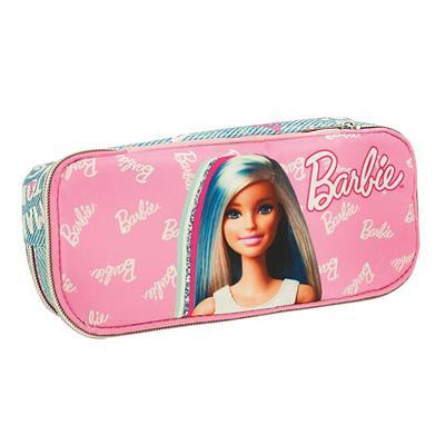Εικόνα της Gim - Κασετινάκι Οβάλ Barbie Think Sweet 349-70144