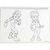 Εικόνα της Gim - Μπλοκ Ζωγραφικής Gormiti 23X33 cm 40φ. + Stickers 335-56416