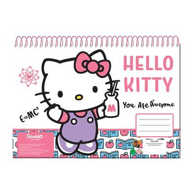 Εικόνα της Gim - Μπλοκ Ζωγραφικής Hello Kitty Α4 30Φ 335-68413