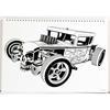 Εικόνα της Gim - Μπλοκ Ζωγραφικής Hotwheels 23X33 cm 40φ. + Stickers 349-26416