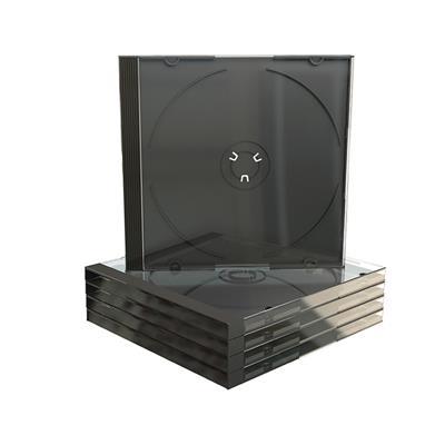 Εικόνα της MediaRange CD Jewelcase for 1 Disc 10.4mm (machine packing grade) Black Tray BOX22-M