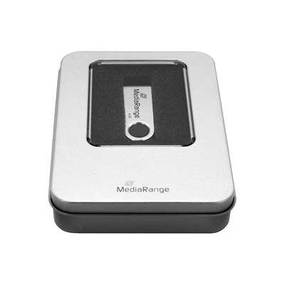 Εικόνα της MediaRange Aluminum Storage Box for USB Flash Drives Silver BOX901