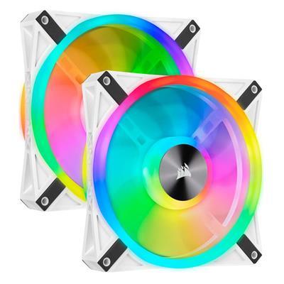 Εικόνα της Case Fan Corsair QL140 140mm RGB PWM White (2-Pack) CO-9050106-WW