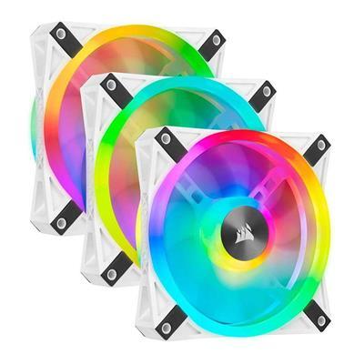 Εικόνα της Case Fan Corsair QL120 120mm RGB PWM White (3-Pack) CO-9050104-WW