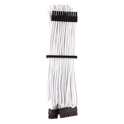 Εικόνα της Corsair Premium Sleeved ATX 24-Pin Cable Type-4 Gen4 White CP-8920231