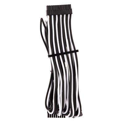 Εικόνα της Corsair Premium Sleeved ATX 24-Pin Cable Type-4 Gen4 White/Black CP-8920234