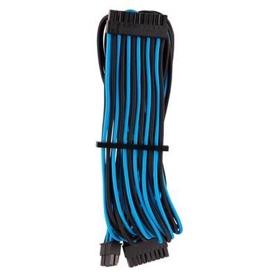 Εικόνα της Corsair Premium Sleeved ATX 24-Pin Cable Type-4 Gen4 Blue/Black CP-8920235