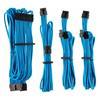 Εικόνα της Corsair Premium Sleeved PSU Cables Starter Kit Type-4 Gen4 Blue CP-8920218