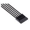 Εικόνα της Corsair Premium Sleeved PSU Cables Starter Kit Type-4 Gen4 Black CP-8920222
