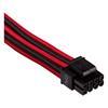 Εικόνα της Corsair Premium Sleeved EPS12V/ATX12V Cable Type-4 Gen4 Red/Black CP-8920240
