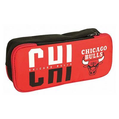 Εικόνα της NBA - Κασετίνα Βαρελάκι Οβάλ Chicago Bulls 338-39141