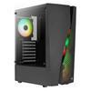 Εικόνα της Aerocool Wave v3 RGB Tempered Glass Black ACCM-PV35143.11