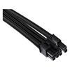 Εικόνα της Corsair Premium Sleeved Single PCIe Cable Type-4 Gen4 Black CP-8920243