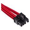 Εικόνα της Corsair Premium Sleeved Single PCIe Cable Type-4 Gen4 Red CP-8920244