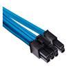 Εικόνα της Corsair Premium Sleeved Single PCIe Cable Type-4 Gen4 Blue CP-8920246