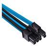 Εικόνα της Corsair Premium Sleeved Single PCIe Cable Type-4 Gen4 Blue/Black CP-8920249