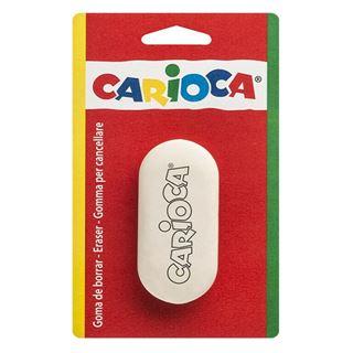 Εικόνα της Carioca - Γόμα Λευκή Blister 50-669