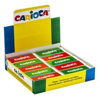 Εικόνα της Carioca - Γόμα Λευκή 40150