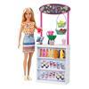 Εικόνα της Barbie - Wellness Smoothie Bar Playset with Blonde Doll GRN75