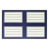 Εικόνα της Justnote - Ετικέτες Μπλε 11.3x18cm 20τμχ 50-1969