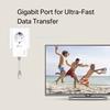 Εικόνα της Powerline Adapter TP-Link TL-PA7017P v4 Gigabit Passthrough AV1000
