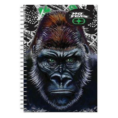 Εικόνα της No Fear - Τετράδιο Spiral, Gorilla 17x25cm 2 Θέματα 347-69402