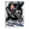 Εικόνα της Paul Frank - Τετράδιο Spiral, Space Drifter A4 2 Θέματα 346-70440