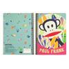 Εικόνα της Paul Frank - Τετράδιο Spiral, Musictopia A4 2 Θέματα 346-72440