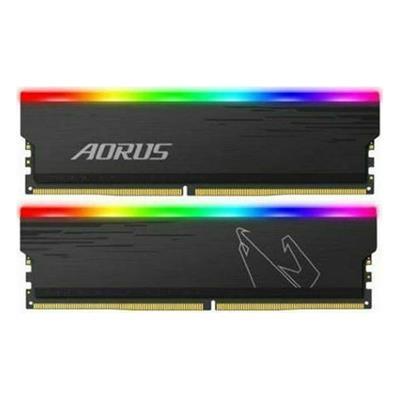 Εικόνα της Ram Gigabyte Aorus RGB 16GB (2x8GB) DDR4-3333MHz CL19 GPA16G33-00-G